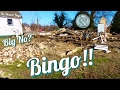 Metal Detecting Demolished 1700's Mansion #107 Bingo