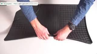 Обзор резиновых ковриков на авто от Stingray (Стингрей)