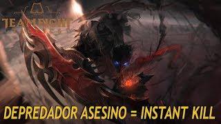 TEAMFIGHT TACTICS   DEPREDADOR / ASESINO Y ACERO = Combinación instantkill