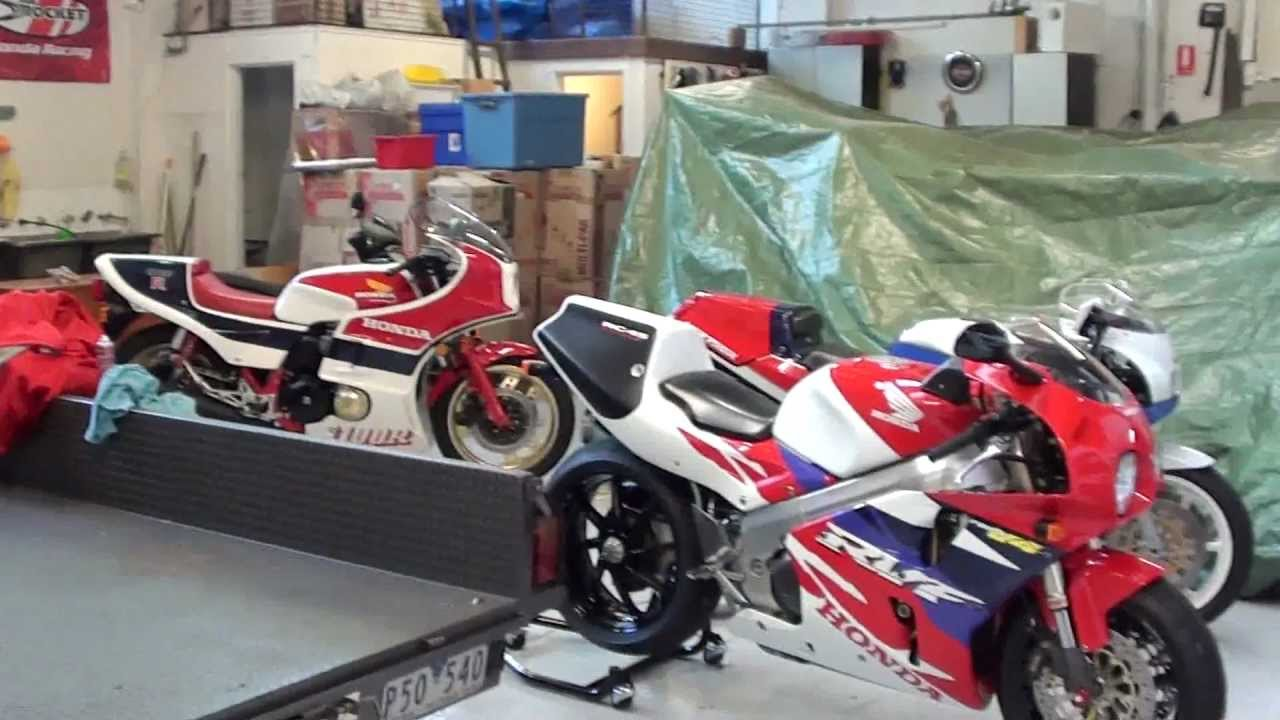 motorcycle honda collection with rc45/rc30 australia - youtube