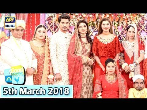 Good Morning Pakistan - Irza Khan & Zeeshan Ali - 5th March 2018 - ARY Digital Show