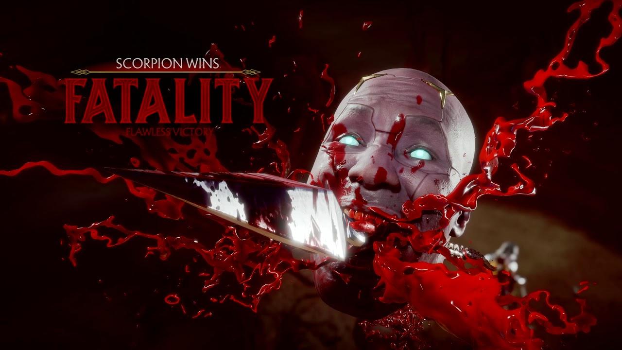 Scorpion Mortal Kombat 11 Fatalities Guide Inputs List Videos