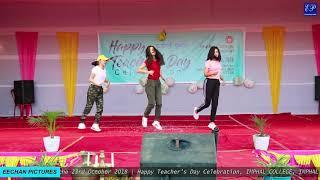Imphal College Teacher's day Celebration 2018 Entertainment Program 14