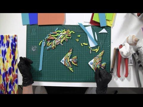 НТС Севастополь: «Территория творчества: Фьюзинг – стеклянная рыбка»