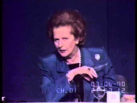 Margaret Thatcher Nato Press Conference 1990