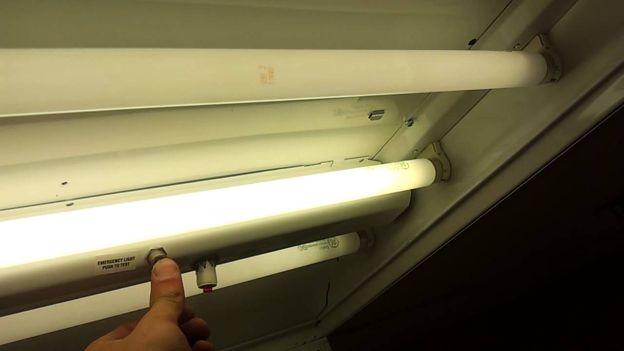 Testing a fluorescent emergency light youtube testing a fluorescent emergency light arubaitofo Image collections