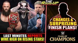 WWE SURPRISE PLANS FOR #WWEClash! Last Minute REPORTS, Vince HIGH ON RISING STARS - The Round Up