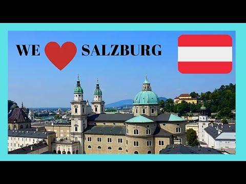SALZBURG, a walking tour around one of world's most beautiful cities (AUSTRIA)