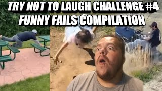Try Not To Laugh Challenge 4 Funny Fails Compilation