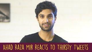 Ahad Raza Mir Reacts To Thirsty Tweets | Parwaaz Hai Junoon | Yakeen Ka Safar | ShowSha