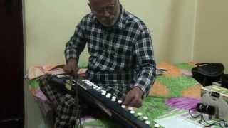 Marathi Abhang Majhe Maher Pandari(Bheemsen Joshi)by Vinay M Kantak on Banjo/Bulbul Tarang