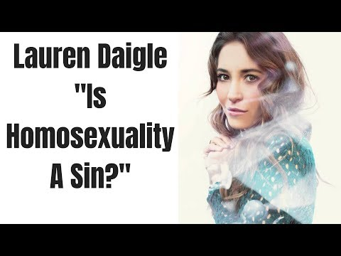 Lauren Daigle Interview | Is Homosexuality Wrong?