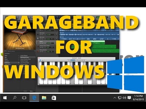 Garageband for Windows - How to run it and Alternatives
