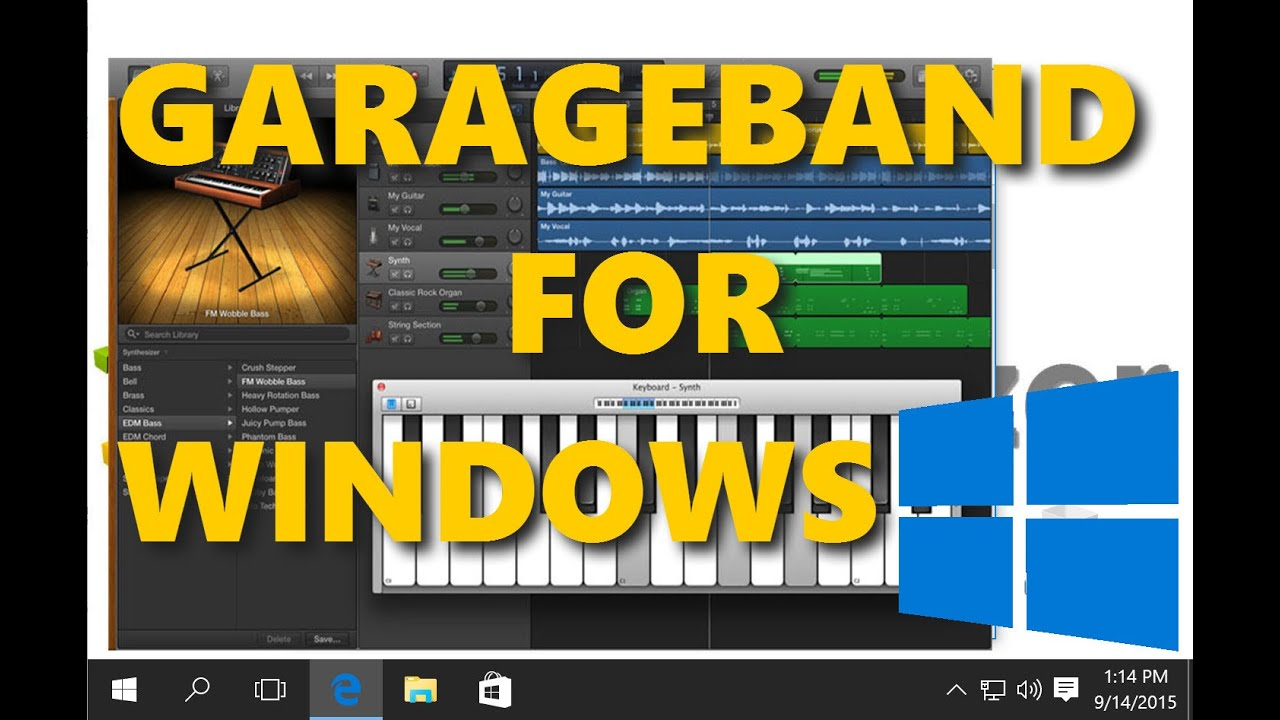 Garageband Na Pc Garageband For Windows How To Run It And Alternatives