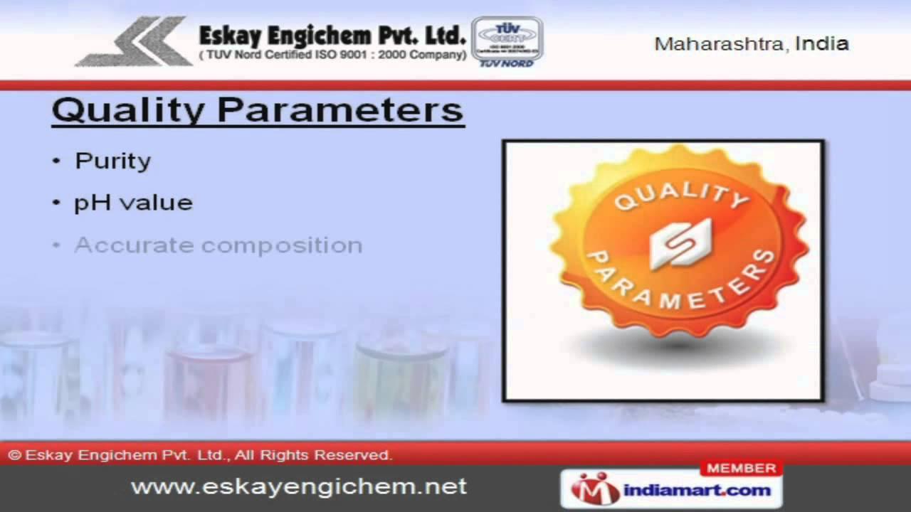 Specialty Chemicals by Eskay Engichem Pvt  Ltd , Pune
