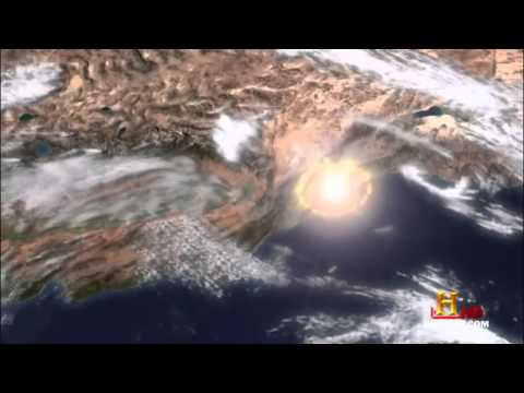 Simulation Of An Asteroid hitting Los Angeles HD