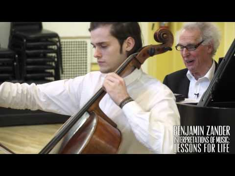 Benjamin Zander Masterclass 2.6 (Part4) Bach Cello Suite No.1 in G Major
