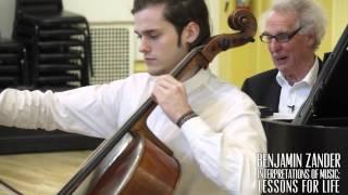 Benjamin Zander Masterclass 2.6 (Part4) Bach Cello Suite No.1 in G Major