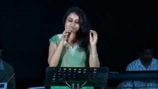 Mridula Warrier - Kathodu Kathoram live performance for Ybrations