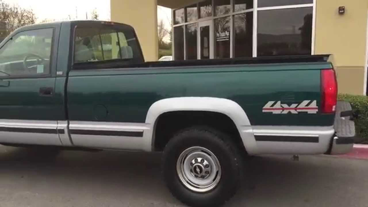 All Chevy 95 chevy 3500 diesel : FOR SALE!!! 1995 Chevy Detroit Diesel 6.5 4x4 Only 92k Ca. Rig ...