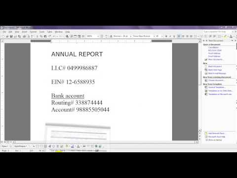 How to file Limited Liability Company (LLC) annual report - Step 5