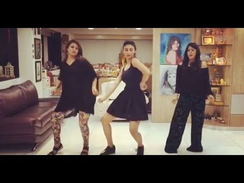 Beat Pe Booty Challenge | Ekta Kapoor, Mouni Roy and Divyanka Tripathi Nailed It