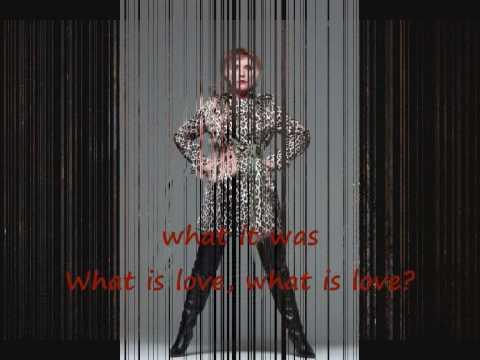 Deborah (Debbie) Harry - What is love