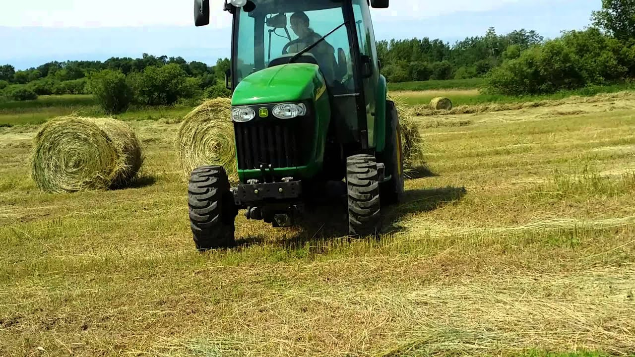 John Deere 3720 Attachments : John deere tractor and attachments youtube