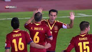 Disfruta de 7 golazos de Xavi Hernández con la Selección española