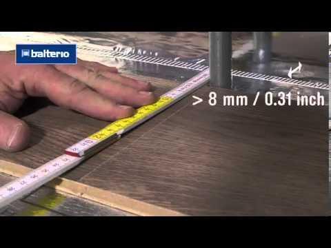 Укладка ламината вокруг трубы радиатора