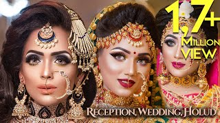 Holud, Wedding & Reception Combo by Zahid Khan Makeover -Tutorial Presented by M H Bipu Photography