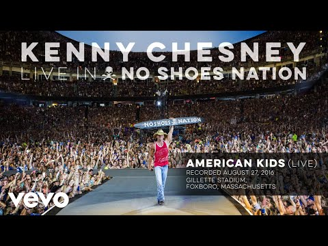 Kenny Chesney - American Kids (Live) (Audio)