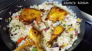 Download Video Wali wa mboga mboga na kuku/ Chicken and Vegetables rice MP3 3GP MP4