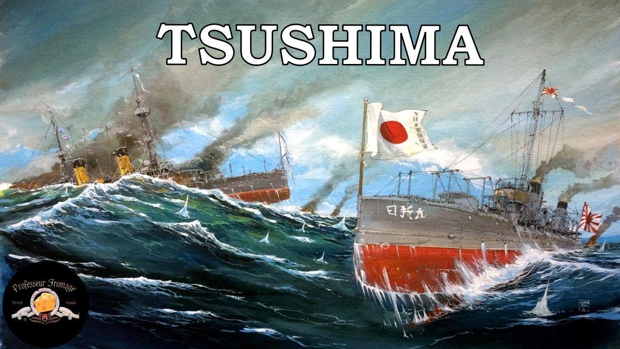 LA BATAILLE DE TSUSHIMA : FIN DU VOYAGE POUR LA FLOTTE DE LA BALTIQUE