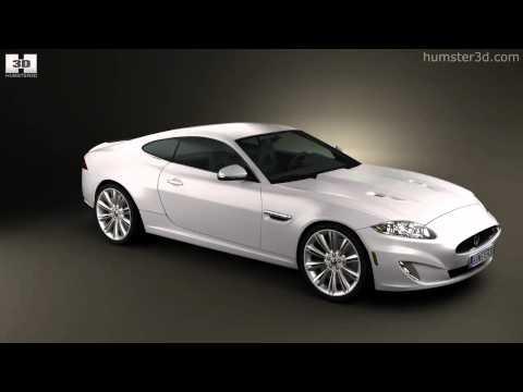Jaguar XK (X150) 2012 by 3D model store Humster3D.com