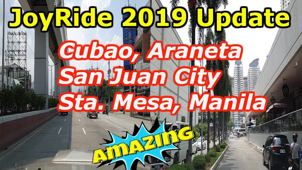 Manila to Quezon City Joy Ride 2019 Update.. Travel vlog, Tour sightseeing!
