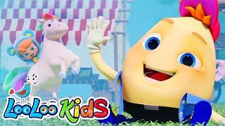 Humpty Dumpty - Songs for Children | LooLoo Kids