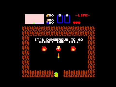 Link Kills The Old Man In The Cave Youtube