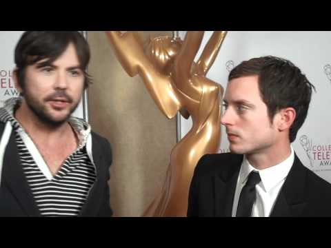 Jason Gann and Elijah Wood at 32nd Annual College Television Awards