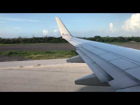 Curaçao - Takeoff from Hato International Airport HD (2016)