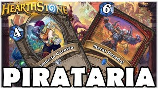 HEARTHSTONE - PIRATARIA PESADA! (O RINGUE DO RASTAKHAN)