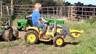 TRACTORS FOR KIDS, JOHN DEERE, TRACTOR VIDEOS
