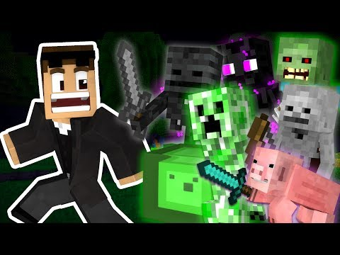 Thumbnail: If Mobs Could Kill You in Creative Mode - Minecraft