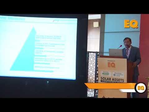 Mr. Nitesh Madan, Regional Head – North, Godrej at EQ Solar Assets Conference, Delhi