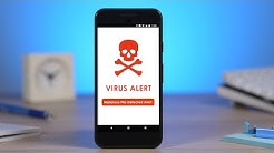 How to Remove a VIRUS/MALWARE off your Android Phone! (WORKS 100%)
