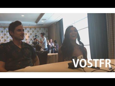 OUAT Cast  VOSTFR  Dania Ramirez & Andrew J. West at SDCC 2017
