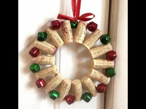 Best DIY Christmas Door Decorations and Wreath - YouTube