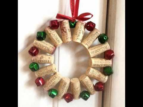 Best DIY Christmas Door Decorations and Wreath - YouTube