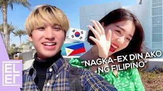 KOREAN SPEAKS BETTER FILIPINO THAN ME! | EL from EL's Planet