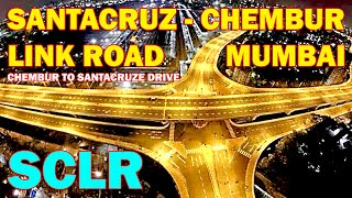 Chembur to Santacruz - Santacruz Chembur SCLR Link road full ride Video